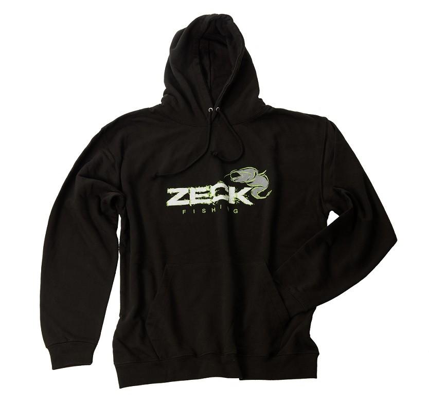 Zeck Hoodie Catfish Black S Angelsport Bekleidung